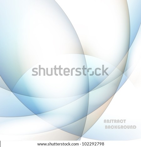 Abstract Line Background Vector - stock vector