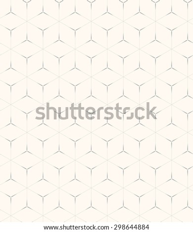 abstract linear seamless pattern, soft and geometric concept, Endless texture can be used for wallpaper, pattern fills, web page background,surface textures. - stock vector