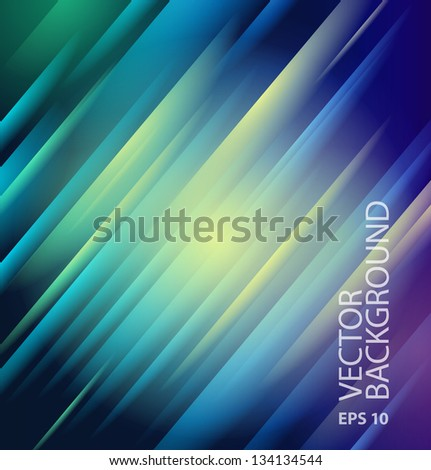 Abstract lines background for your artwork - stock vector