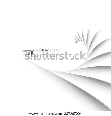 Abstract Lines Business Background | Vector Design - stock vector