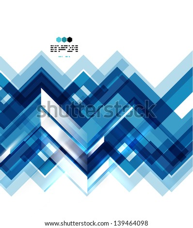 Abstract lines geometrical background - stock vector