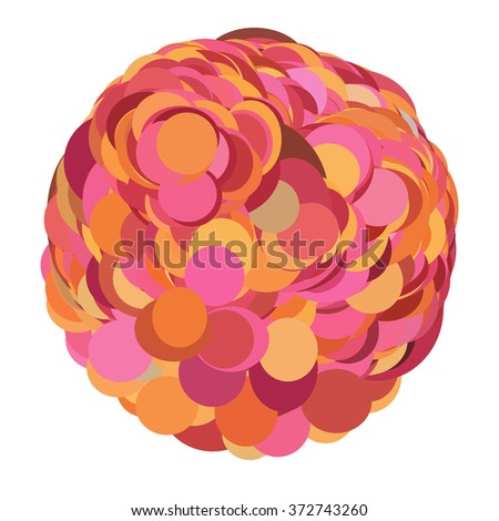 Abstract logo design element, vector illustration