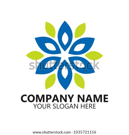 Abstract Logo Design On White Background Stock Photo Photo Vector