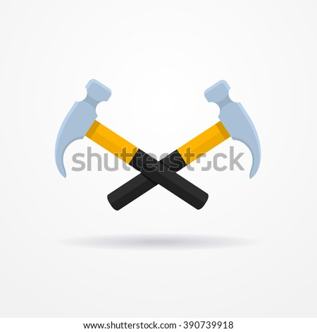 Crossed Hammer Symbol Stock Images Royalty Free Images