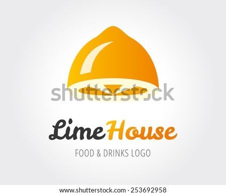 Abstract logo template for branding and design - stock vector