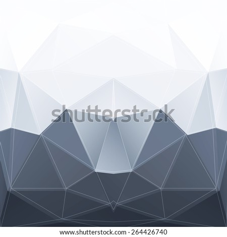 Abstract Low Poly Vector Background | EPS10 Design  - stock vector