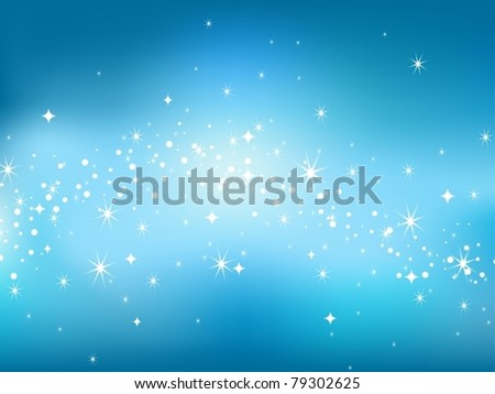 Abstract luminescence background in star sky style. Vector illustration. - stock vector
