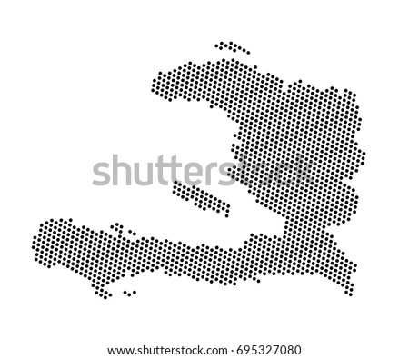 Abstract map haiti dots planet lines stock vector 695327080 abstract map of haiti dots planet lines global world map halftone concept vector gumiabroncs