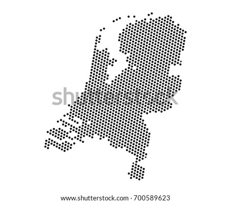 Abstract map netherlands dots planet lines stock vector 700589623 abstract map of netherlands dots planet lines global world map halftone concept vector gumiabroncs Images