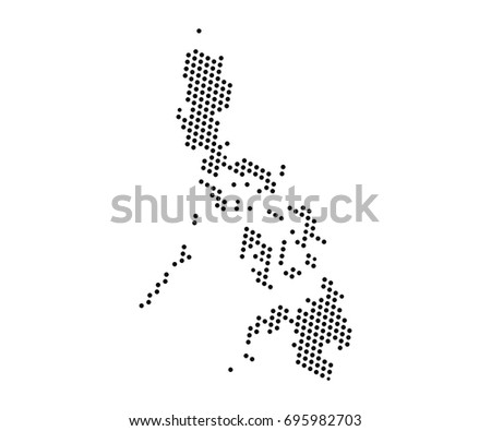Abstract map philippines dots planet lines stock vector 695982703 abstract map of philippines dots planet lines global world map halftone concept vector gumiabroncs Gallery