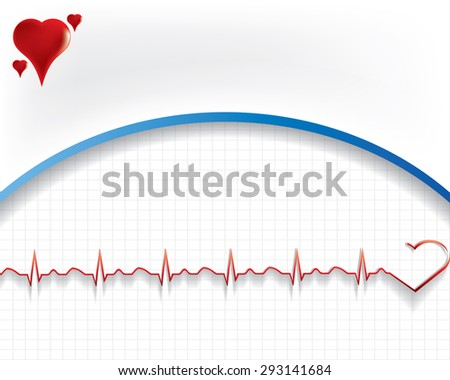 Abstract medical background with medical symbol. EPS 10. - stock vector