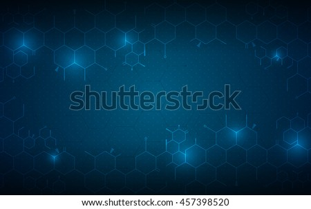 abstract medical health care concept background molecular scientific design