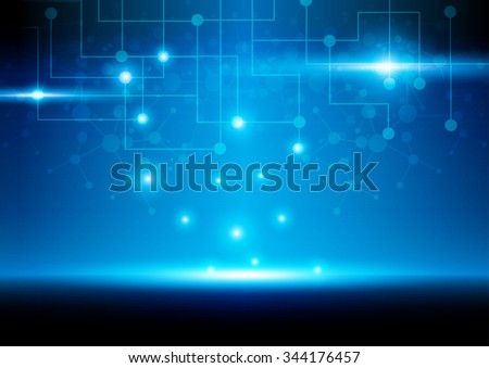 Abstract Mesh Background with light , Lines and Shapes.illustration vector design.