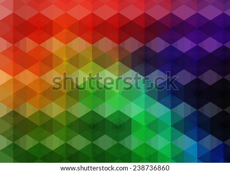 Abstract mesh background with lines and shapes | EPS10 Futuristic Design - stock vector