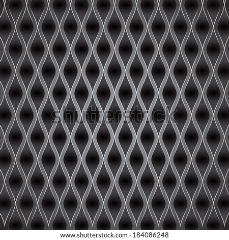 Abstract metal background. Vector illustration. EPS10 - stock vector