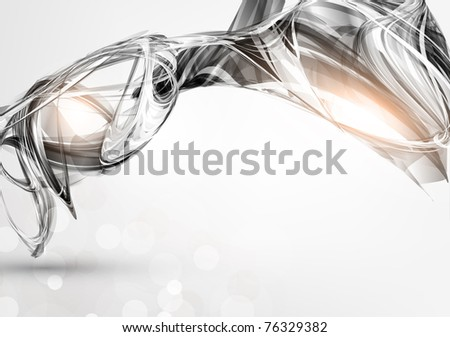 Abstract Metal Techno Background Vector eps 10 design