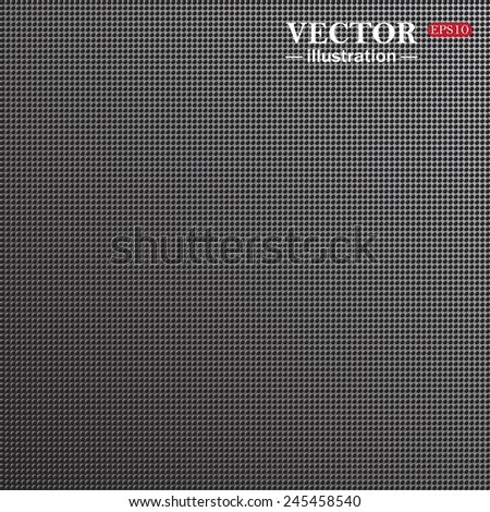 Abstract metallic background. Grey structural background, vector, EPS 10 - stock vector