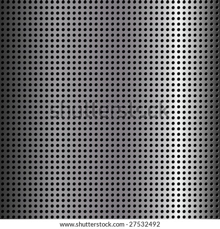 abstract metallic grill background