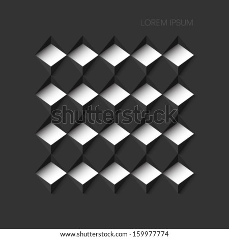 abstract minimalistic background - stock vector