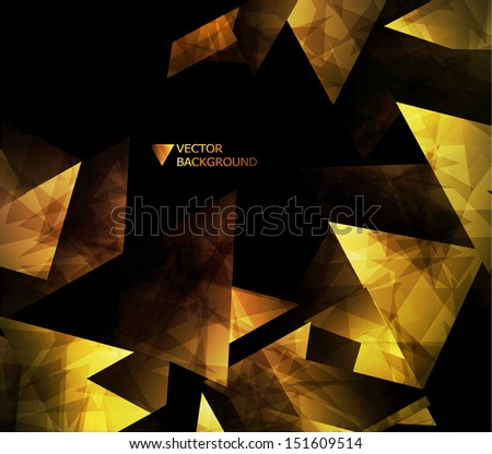 abstract modern background. Design modern template can be used for brochure, banners // website layout vector.  - stock vector