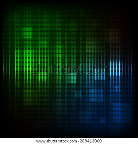 Abstract modern background with colored squares