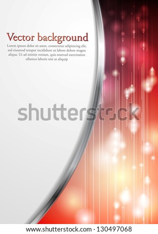 Abstract modern bright background. Vector design eps 10 - stock vector