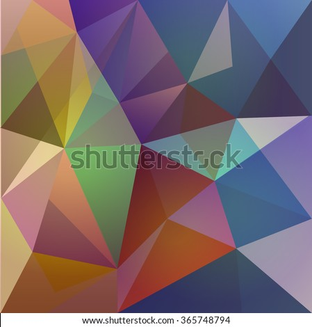 ABSTRACT MODERN DESIGN BACKGROUND-low poly - stock vector