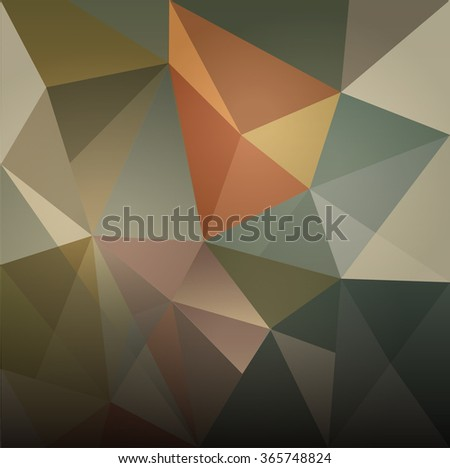ABSTRACT MODERN DESIGN BACKGROUND- low poly - stock vector