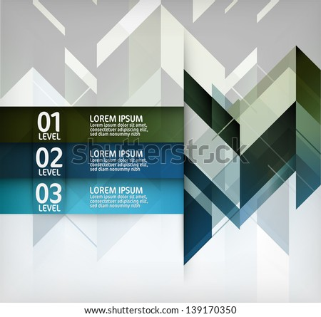 Abstract Modern Design Layout - stock vector