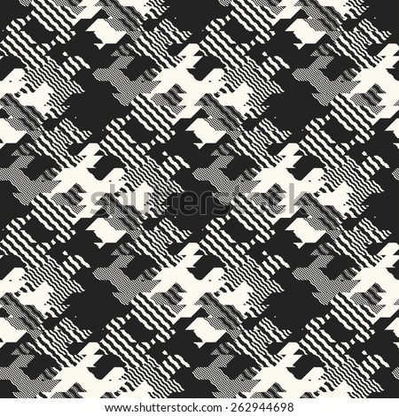 Abstract modern elements textured background. Seamless pattern. Vector. - stock vector