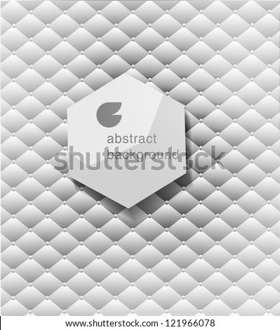 abstract  modern Label or bubble  with background, , can be used for website, info-graphics, banner. - stock vector