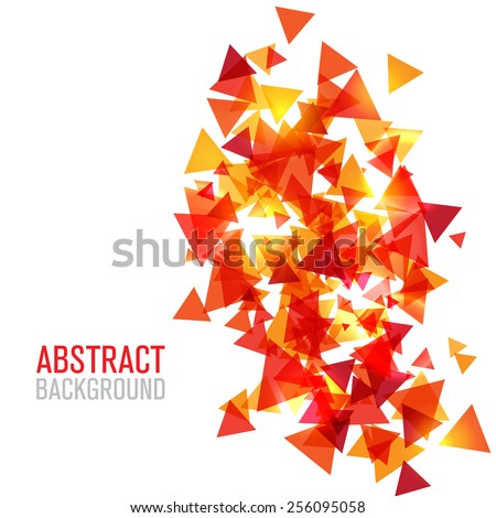 Abstract modern poligonal background for brochure and covers - stock vector