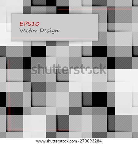 abstract modern  vector template with squares. Eps10 - stock vector