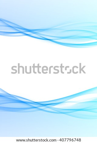 Abstract modernistic tech swoosh wave layout. Vector illustration