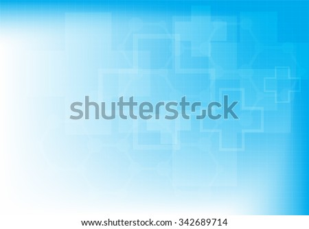 Abstract molecules medical background (Vector illustration). - stock vector