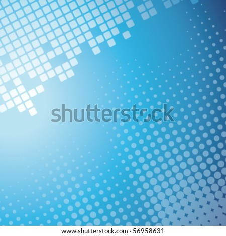 Abstract mosaic background - stock vector