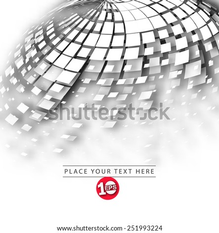 Abstract mosaic background, eps10 vector illustration.