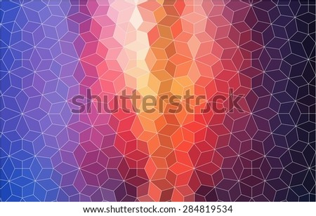 Abstract  mosaic colorful background for web design - stock vector