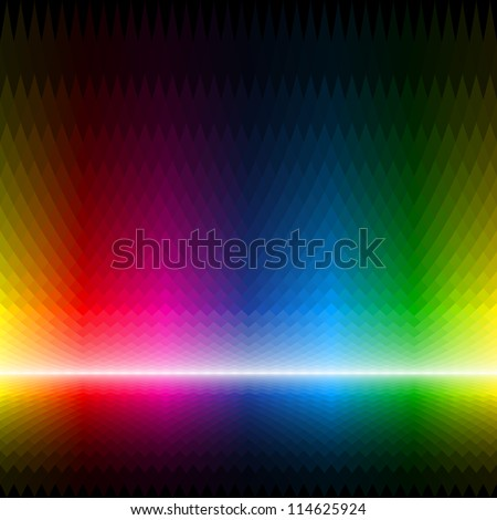 Abstract multicolor background. Seamless vector. - stock vector