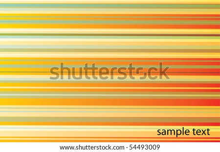 abstract multicolor line background - stock vector