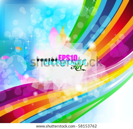 Abstract Multicolours Background for Business Stylish Flyers - stock vector
