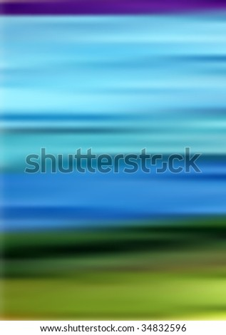 Abstract Nature Illustration - stock vector
