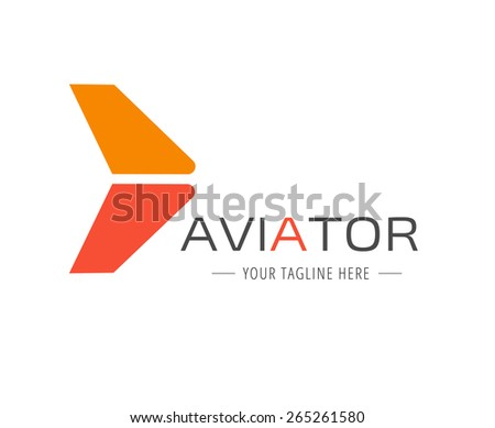 Abstract new vector logo template for branding and design - stock vector