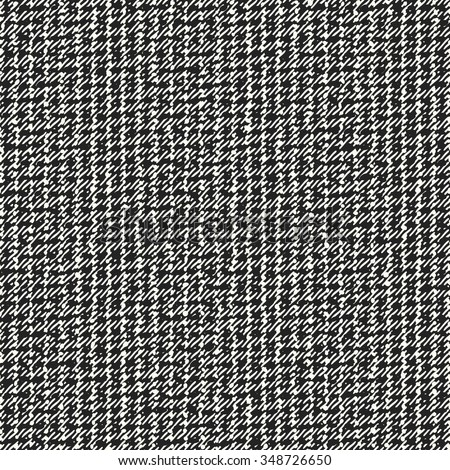 Abstract noisy brushed fabric texture. Seamless pattern. - stock vector