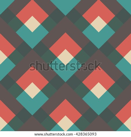 abstract oblique retro pattern, vintage style