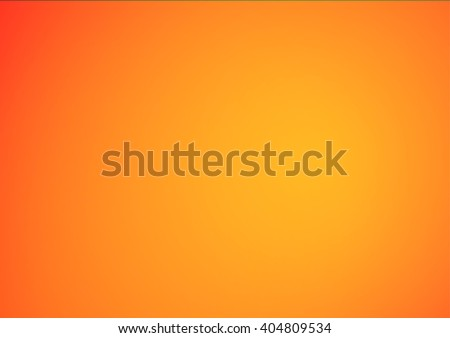 Abstract orange gradient illustration background - stock vector