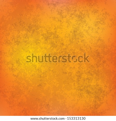 abstract orange grunge background of vintage texture - stock vector