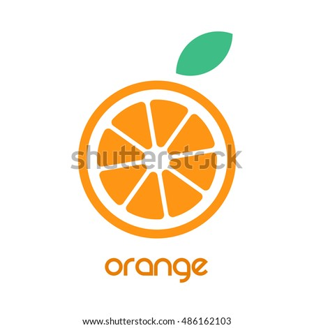 orange logo with leaf theleafco