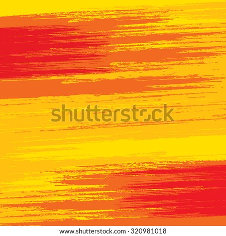 Abstract Paint Brushed Background. Ready for Your Text and Design. - stock vector