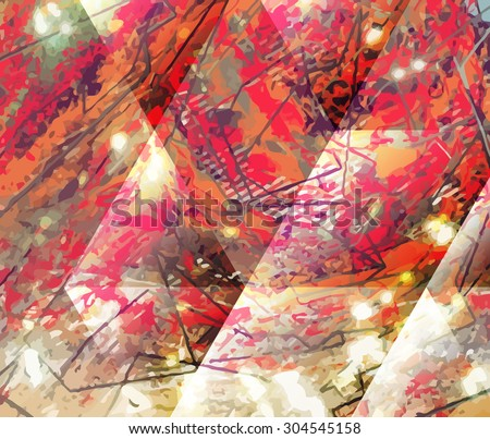 Abstract painted background. Paint texture for design uses. A background for text, covers, websites and wrapping paper. Grungy graphic texture. - stock vector